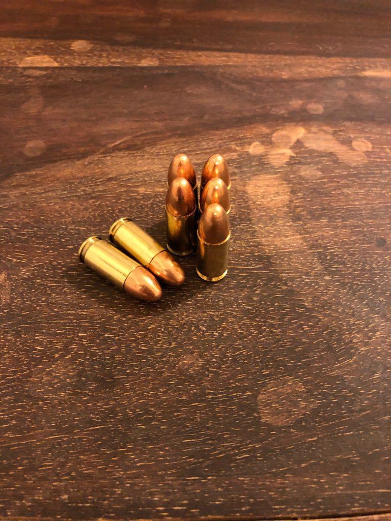 9 mm bullets